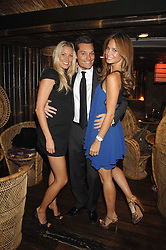 Left to right, SEB & HEIDI BISHOP and CAROLINE PEARL at a party to celebrate the launch of Independent (Formerly ICM) held at Mahiki, 1 Dover Street, London W1 on 17th September 2007.<br /><br />NON EXCLUSIVE - WORLD RIGHTS