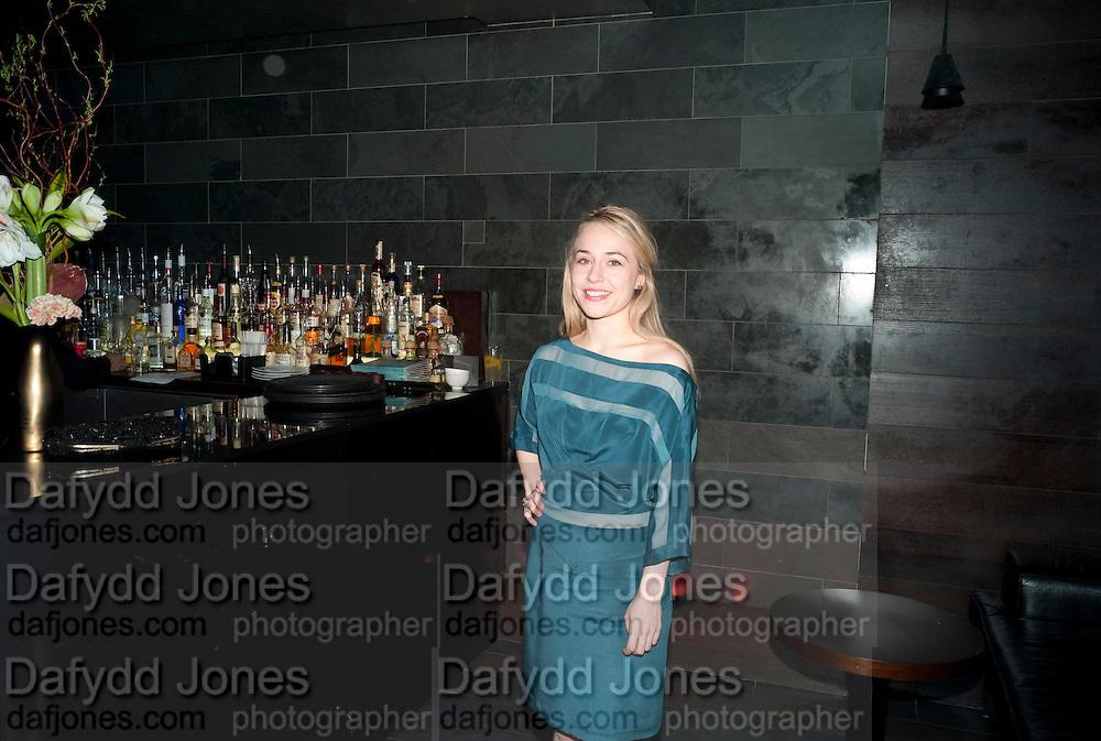 SARAH GOLDBERG; , Clybourne Park Press night. Opened at Wyndham's Theatre. Party afterwards at Mint Leaf, Haymarket, London. 8 February 2011.  -DO NOT ARCHIVE-© Copyright Photograph by Dafydd Jones. 248 Clapham Rd. London SW9 0PZ. Tel 0207 820 0771. www.dafjones.com.