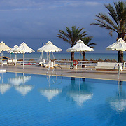 Pool by the beach, Hammamet, Tunisia (November 2005)