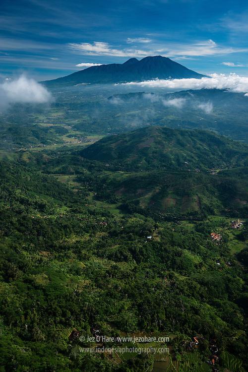 Gunung Padang & Gunung Gede-Pangrango, Cianjur, West Java, Indonesia.