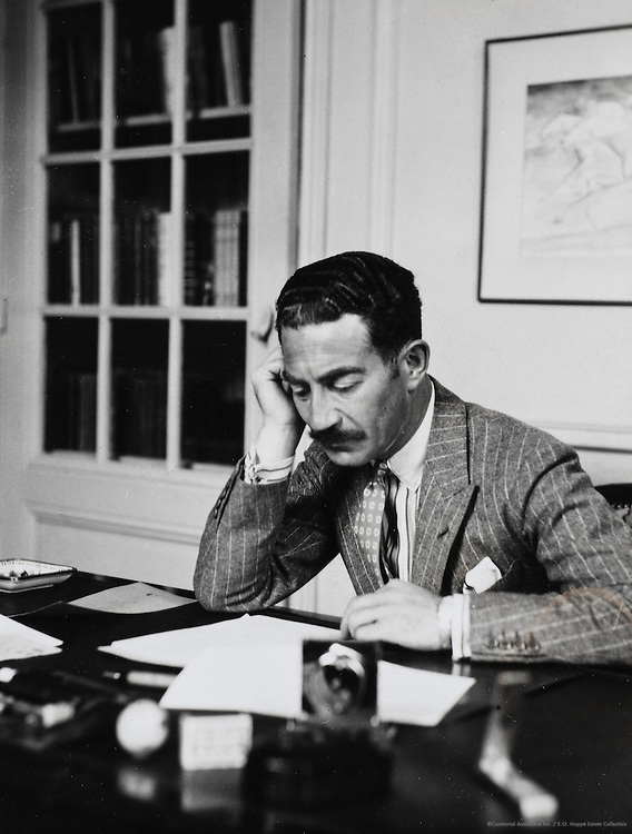 "Michael Arlen, novelist, ""at Villa Bella Vista, Cannes"", Armenia, 1935"