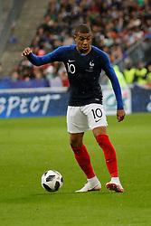 France's Kylian Mbappe during France v Republic of Ireland friendly football match at the Stade de France, St-Denis, France on May 28, 2018. France won 2-0. Photo by Henri Szwarc/ABACAPRESS.COM