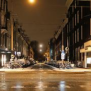 NLD/Amsterdam/20101129 - Nachtelijk straten gemeente Amsterdam, van Bearlestraat - PC Hooftstraat