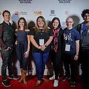 London, England, UK. 25th September 2017. Blend Media and Raindance Be attend Raindance Film Festival Screening at Vue Leicester Square, London, UK