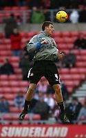 Photo: Andrew Unwin.<br />Sunderland v Ipswich Town. Coca Cola Championship. 13/01/2007.<br />Sunderland's Jonny Evans.