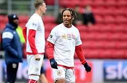 Bobby Reid of Bristol City warms up  - Mandatory by-line: Joe Meredith/JMP - 10/02/2018 - FOOTBALL - Ashton Gate Stadium - Bristol, England - Bristol City v Sunderland - Sky Bet Championship