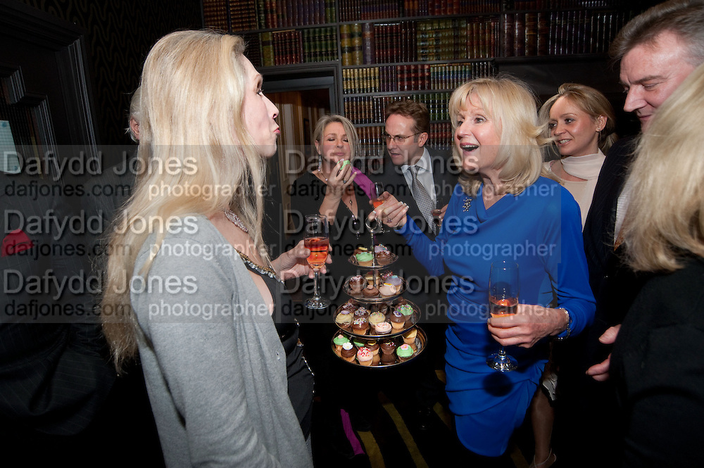 LADY GEORGIA CAMPBELL; LIZ BREWER, Liz Brewer GIVES A PARTY TO WELCOME 2010, Champagne <br /> Flemings Mayfair, 13 Half Moon Street, London. 5 January 2010