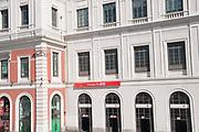 Estacion del Norte, now Principe Pio train Station and Shopping Center, Madrid, Spain