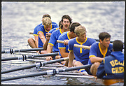 Henley, Great Britain,  UCLA., Men's Eight Grand Challenge Cup, 1988 Henley Royal Regatta, Henley Reach, River Thames, Annual Event. [Mandatory credit: Peter Spurrier/Intersport Images]