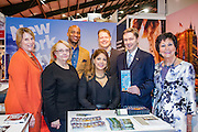 27/1/16 US Chargé d'affaires Reece Smyth at the NYC and Company stand at the Holiday World Show 2017 at the RDS Simmonscourt in Dublin. Picture: Arthur Carron