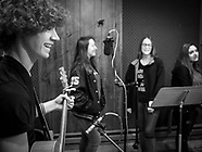 4-H Music Corp Recording their CD