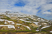 Snow on the Coast Mountains<br /> <br /> Chilkoot Pass<br /> British Columbia<br /> Canada