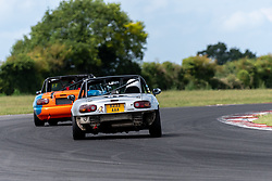 Jake Dormer pictured competing in the 5Club Racing MX-5 Cup. Image captured at Snetterton on July 18/19, 2020 by 750 Motor Club's photographer Jonathan Elsey