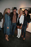 PRU THOLSTRUP, KIDROCK, DIANA JENKINS AND MONIKA JAKISIC, Helmut Newton XL. Hamiltons. Carlos Place. London. 25 September 2007. -DO NOT ARCHIVE-© Copyright Photograph by Dafydd Jones. 248 Clapham Rd. London SW9 0PZ. Tel 0207 820 0771. www.dafjones.com.
