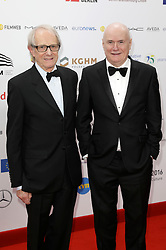 December 10, 2016 - Wroclaw, Lower Silesian, Deutschland - Ken Loach and Dave Johns attend the 29th European Film Awards 2016 at the National Forum of Music on December 10,2016 in Wroclaw, Poland. (Credit Image: © Future-Image via ZUMA Press)