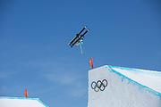 Sarah Hoefflin, Switzerland, Womens ski Slopestyle at the Pyeongchang Winter Olympics on 17th February 2018 at Phoenix Snow Park in South Korea