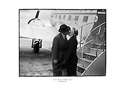 A farewell kiss at Dublin Airport.<br /> <br /> 29th May 1952<br /> 29/05/1952