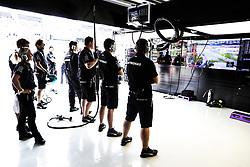 September 29, 2017 - Sepang, Malaysia - Motorsports: FIA Formula One World Championship 2017, Grand Prix of Malaysia, .mechanic of Mercedes AMG Petronas F1 Team  (Credit Image: © Hoch Zwei via ZUMA Wire)
