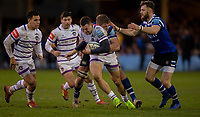 Leicester Tigers Jonny May in action during todays match<br /> <br /> Photographer Bob Bradford/CameraSport<br /> <br /> Gallagher Premiership Round 11 - Bath Rugby v Leicester Tigers - Sunday 30th December 2018 - The Recreation Ground - Bath<br /> <br /> World Copyright © 2018 CameraSport. All rights reserved. 43 Linden Ave. Countesthorpe. Leicester. England. LE8 5PG - Tel: +44 (0) 116 277 4147 - admin@camerasport.com - www.camerasport.com