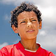 Mostafa from the village of Borg-Meghezil contemplates his future.