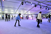 Israel, Jerusalem, Ice skating rink
