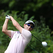 Tim Wilkinson, New Zealand, in action during the third round of the Travelers Championship at the TPC River Highlands, Cromwell, Connecticut, USA. 21st June 2014. Photo Tim Clayton