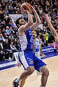 DESCRIZIONE : Campionato 2014/15 Serie A Beko Dinamo Banco di Sardegna Sassari - Acqua Vitasnella Cantu'<br /> GIOCATORE : Stefano Gentile<br /> CATEGORIA : Tiro<br /> SQUADRA : Acqua Vitasnella Cantu'<br /> EVENTO : LegaBasket Serie A Beko 2014/2015<br /> GARA : Dinamo Banco di Sardegna Sassari - Acqua Vitasnella Cantu'<br /> DATA : 28/02/2015<br /> SPORT : Pallacanestro <br /> AUTORE : Agenzia Ciamillo-Castoria/L.Canu<br /> Galleria : LegaBasket Serie A Beko 2014/2015