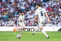 Real Madrid's player Nacho Fernandez during a match of La Liga Santander at Santiago Bernabeu Stadium in Madrid. October 02, Spain. 2016. (ALTERPHOTOS/BorjaB.Hojas)