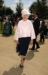 BRONWEN, VISCOUNTESS ASTOR at the 3rd day of the Glorious Goodrwood Racing festival 2006 - Ladies Day, at Goodwood Race course, West Sussex on 3rd August 2006.<br /><br />NON EXCLUSIVE - WORLD RIGHTS
