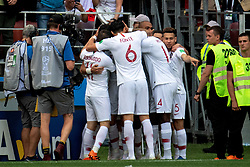 June 20, 2018 - Moscow, Russia - 180620 Cristiano Ronaldo of Portugal celebrates with his teammates after scoring 1-0 during the FIFA World Cup group stage match between Portugal and Morocco on June 20, 2018 in Moscow..Photo: Petter Arvidson / BILDBYRÃ…N / kod PA / 92072 (Credit Image: © Petter Arvidson/Bildbyran via ZUMA Press)