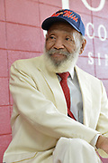 """Ellisville,MS 4/12/21 Pictured is Mississippi's native son and civil rights icon James Meredith speaks at Jones College. Meredith gave a speech entitled """" To our Future: Toward A New Day for Mississippi."""" He said this was the most important speech of his life. Meredith said """" the best Government is one which affords protection to all and administers justice without discrimination""""  Meredith and Judge Charles Pickering spoke to a group of students about their experiences living in Mississippi. Meredith was the first Black student at the University of Mississippi in 1962, and it took the US Supreme Court to get him in after riot on campus. Judge Pickering stood up to the KKK inMississippi, both men have lots to share. They both also feel the answer to America's issues including race and poverty come from Jesus Christ and the Golden Rule. Meredith also spoke about how religion and government must be respected and how to make a just society. ©Suzi Altman"""