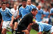 Mark Hammett, Rugby Union warm up tour match, New Zealand All Blacks v Pacific Rim Barbarians, Chichibunomiya Stadium, Tokyo, Japan. 3 November 2000. © Copyright Photo: Dean Treml / www.photosport.nz