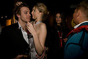 ANDY JAMES, TAMSIN EGERTON,. Patti and Andy Wong  host a night of Surrealism to Celebrate the Chinese Year of the Rat. County Hall Gallery and Dali Universe. London. 27 January 2008. -DO NOT ARCHIVE-© Copyright Photograph by Dafydd Jones. 248 Clapham Rd. London SW9 0PZ. Tel 0207 820 0771. www.dafjones.com.