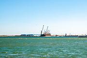 Porto de Aveiro on the Aveiro lagoon, Portugal