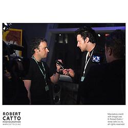Robert Sarkies;Oliver Driver at the Toronto International Film Festival 2006 at the Paramount Theatre, Toronto, Ontario, Canada.