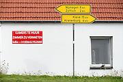 Duitsland, Wyler, 22-9-2013Kamers worden te huur,  aangeboden. In de grensregio van Nederland bij Nijmegen gaan studenten tot in Duitsland op kamers. Kamer te huur,student,studentenkamer,studentenhuisvesting,kamernood,kamerbewoningFoto: Flip Franssen/Hollandse Hoogte