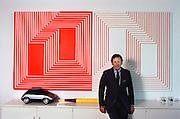 Art: Art Center College of Design, Pasadena, California. Department of Transportation Design. Don Kubly, president of the Art Center College in 1983. MODEL RELEASED. USA.