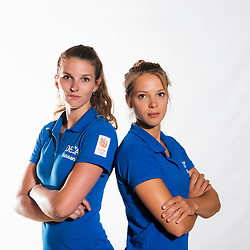 02-07-2018 NED: EC Beach teams Netherlands, The Hague<br /> Jolien Sinnema, Laura Bloem