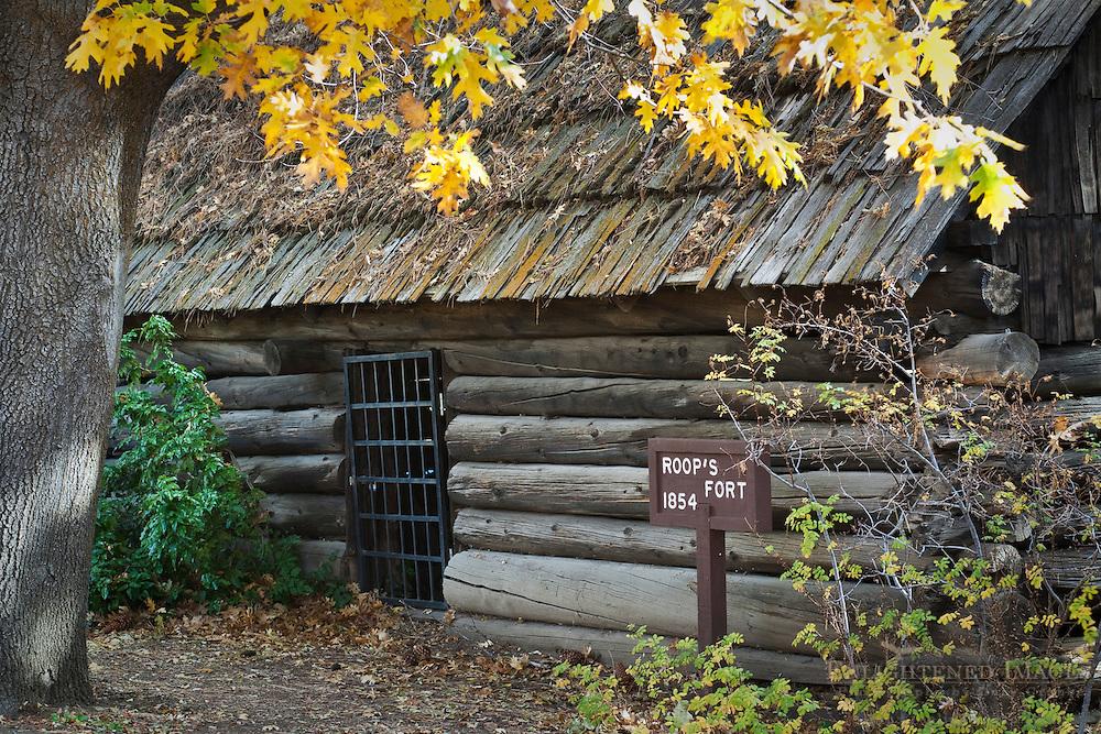 Historic Roops Fort, Susanville, Lassen County, California