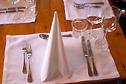 restaurant table wistub du sommelier bergheim alsace france