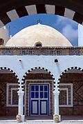 TUNISIA: Djerba. Zaouia of Sidi Brahim. Houmt Souk, the island's central market town.