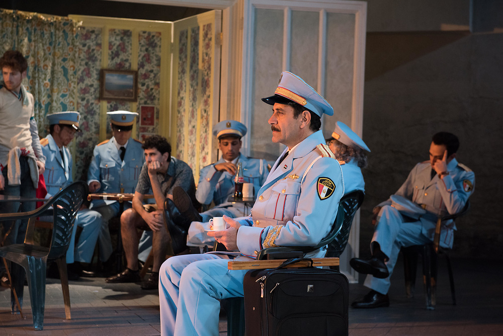 Tony Shalhoub & Cast: The Band's Visit - Behind the scenes and Production photos from the original Atlantic Theater Company Off Broadway production