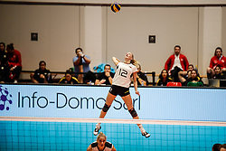 16.05.2019, Montreux, SUI, Montreux Volley Masters 2019, Deutschland vs Polen, im Bild Hanna Orthmann (Germany #12) // during the Montreux Volley Masters match between Germany and Poland in Montreux, Switzerland on 2019/05/16. EXPA Pictures © 2019, PhotoCredit: EXPA/ Eibner-Pressefoto/ beautiful sports/Schiller<br /> <br /> *****ATTENTION - OUT of GER*****