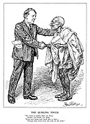 """The Quisling Touch. """"For there is neither East nor West, Border, nor breed, nor birth, When two wrong men stand face to face, - Though they come from the ends of the earth."""""""