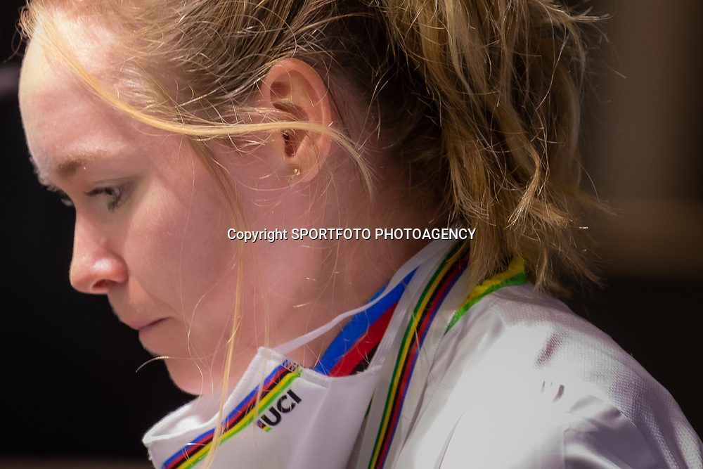 Anna van der Breggen (Netherlands) at the press conference af her second world title