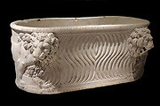 Sarcophagus with lions Roman, 3rd century AD marble Marmor.