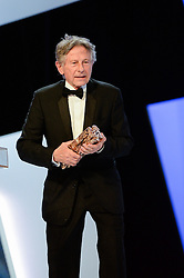 File photo : Roman Polanski attending the 39th Annual Cesar Film Awards ceremony held at the Theatre du Chatelet in Paris, France on February 28, 2014. Film dirctor Roman Polanski has given up a chance to preside over the Cesar awards - France's equivalent of the Oscars, his lawyer said on Thursday after the decision to hand him the role caused outrage among women's groups, who had called for protests. Their anger is caused by the fact Polanski has been wanted in the US for almost four decades for the rape of a 13-year-old girl in Los Angeles in 1977. Photo by Bernard-Briquet-Orban/ABACAPRESS.COM