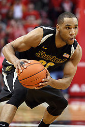 14 February 2015:   Tekele Cotton during an NCAA MVC (Missouri Valley Conference) men's basketball game between the Wichita State Shockers and the Illinois State Redbirds at Redbird Arena in Normal Illinois