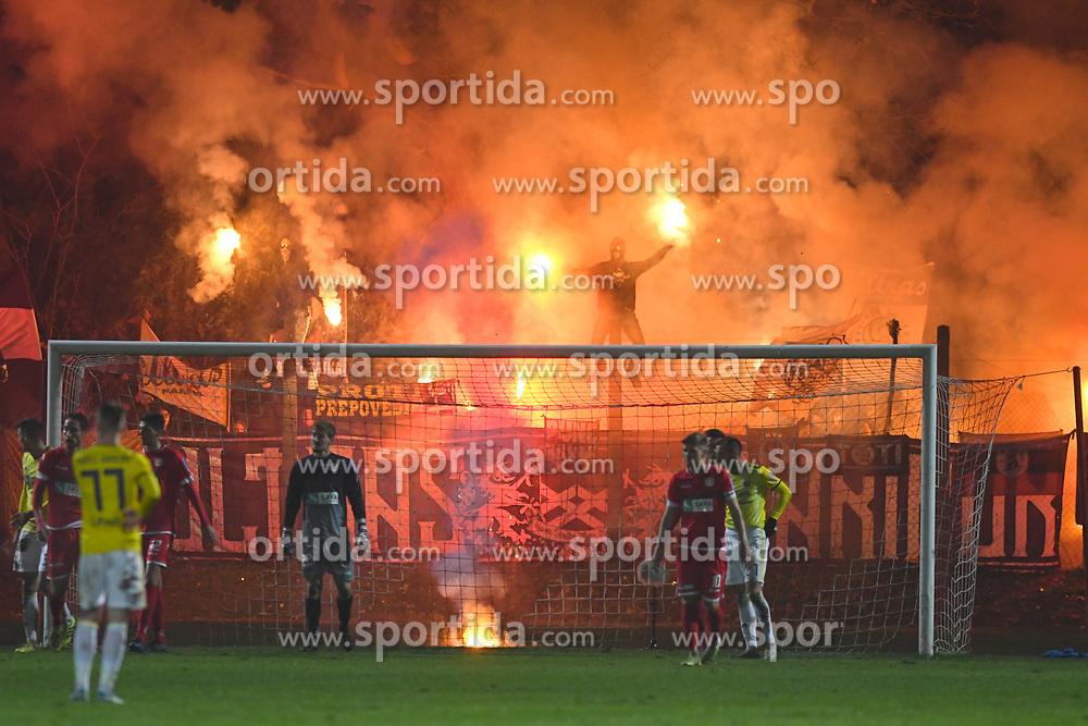 Viole during football match between NK Aluminij and NK Maribor in 18th Round of Prva liga Telekom Slovenije 2019/20, on November 24, 2019 in Sportni park Aluminij, Kidricevo Slovenia. Photo by Milos Vujinovic / Sportida