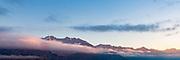 The Austrian Alps over Innsbruck, Austria